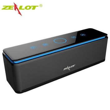 ZEALOT S7 Speaker Touch Control Speakers Bluetooth Wireless 4 Drivers Audio Home Music Theatre 3D