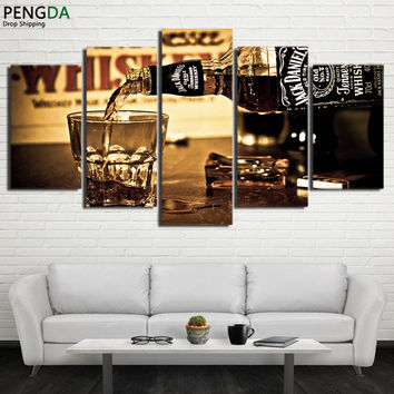 Jack Daniels Whiskey Canvas