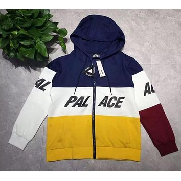 Original Men's Hoodies Europe Street tide brand off white skateboard color space cotton sweater cardigan palce Hooded men and wo