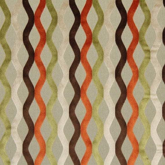 Gold Geometric Upholstery Fabric Modern From Popdecorfabrics On