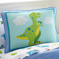 Olive Kids Dinosaur Land Pillow Sham - 65412