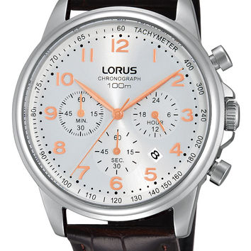 Lorus Men's Chronograph RT335D Leather Band