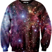 ☮♡ Purple Galaxy Sweater ✞☆