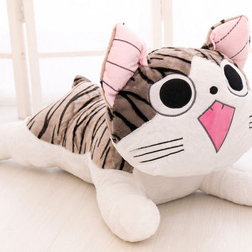 Kids Toys Gift For Boys Girls Japan Anime Figure Cheese Cat Plush Stuffed Toy Doll Pillow Cushion 20cm New Arrival