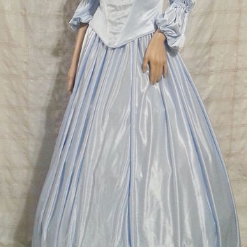 Handmade Victorian Style Dress for Women/Misses! Medium/Large Reenactment/Princess or Queen Costume/Late 1800's/Early 1900's/Formal Gown