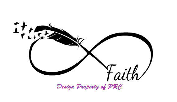 Faith infinity car decal car sticker from prcdecals on etsy