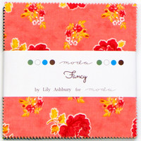 Moda Fancy Charm Pack Squares by Lily Ashbury #11490PP | Lisas Stitching Post
