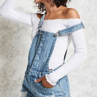 Snap-Button Denim Overalls
