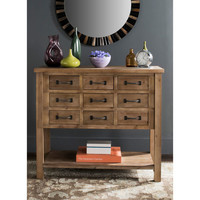 Aiden Natural 9 Drawer Chest