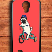 Funny Pug Riding Samsung Galaxy S4 Case