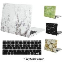 MOSISO Marble Pattern Hard Cover Case for MacBook Pro 13 Retina Plastic Case for Macbook Air 13 13.3 inch Laptop Shell Cover Hot