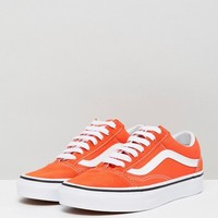 Vans Old Skool Sneakers In Orange at asos.com