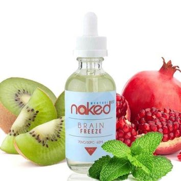 Naked Brain Freeze (Menthol) E Liquid