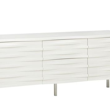 Wave Sideboard White by Russell Pinch for Content by Terence Conran