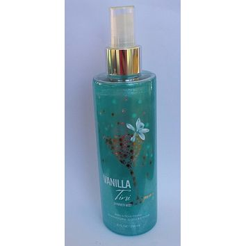 Bath & Body Works VANILLA TINI Shimmer Mist 8 oz