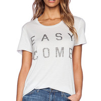 Zoe Karssen Easy Come Easy Go Tee in Baby Blue