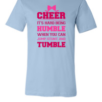 If Cheerleading Was Easy - Unisex T-shirt