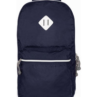 NAVY PACK-A-BACKPACK - View All - New In - TOPMAN