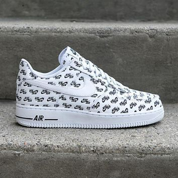 auguau NIKE - Men - Air Force 1 Low QS - White/Black