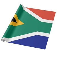 South Africa flag Wrapping Paper