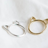 cat ring,kitty ring,Raccoon ring,animal ring, whimsical ring,animal jewelry,gift for your Valentine,teen ring,unisex ring,cute ring