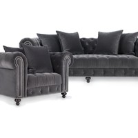 Chic Combo - Wakefield Sofa & Chair | Sofas | Living Room | Furniture | Z Gallerie