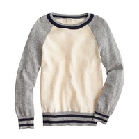 crewcuts Boys Stripe Baseball Sweater