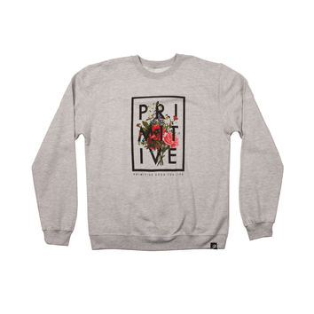 ORGANIC CREWNECK - ATHLETIC-HEATHER