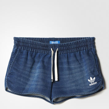 adidas Originals Leisure Denim Shorts