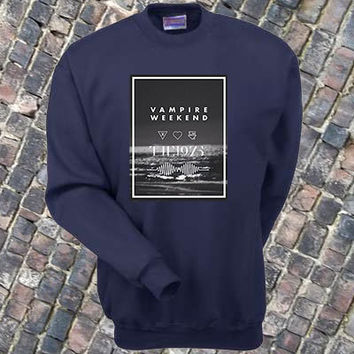 Vampire Weekend Arctic Monkeys The 1975 sweater Sweatshirt Crewneck Men or Women Unisex Size