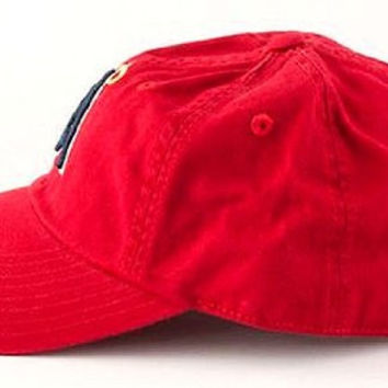 Los Angeles Angels of Anaheim MLB Baseball Cap One Size American Needle Cotton Twill Red