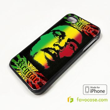 BOB MARLEY RASTA iPhone 4/4S 5/5S/SE 5C 6/6S 7 8 Plus X Case Cover
