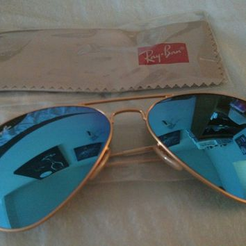 Ray-Ban aviator sunglasses Fiji Water Edition. brand new