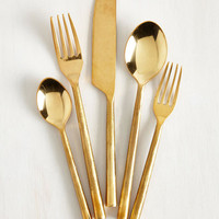 20s Take a Dine to It Cutlery Set by ModCloth