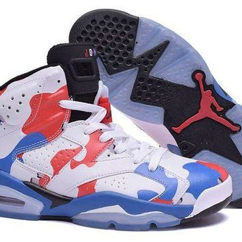 DCCKL8A Jacklish Air Jordan Retro 6 American Heroes Custom For Sale