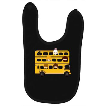 Harry Potter Schoolbus Baby Bibs