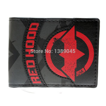 DC Comics RED HOOD Print Bi-Fold WALLET