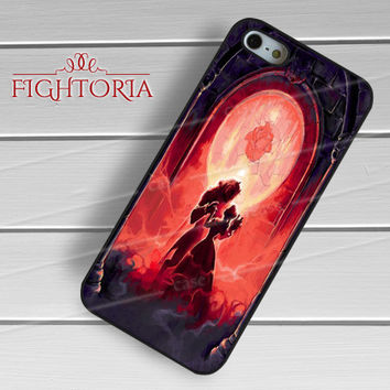 Beauty and the beast Art - zzZzz for  iPhone 4/4S/5/5S/5C/6/6+s,Samsung S3/S4/S5/S6 Regular/S6 Edge,Samsung Note 3/4