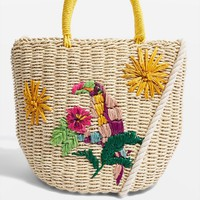 Toucan Straw Bag
