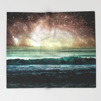Event Horizon Throw Blanket by Jenndalyn | Society6