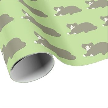 Brandicoot Cat Wrapping Paper