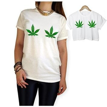 Women's CannaTee - Regular or Crop Top Available!