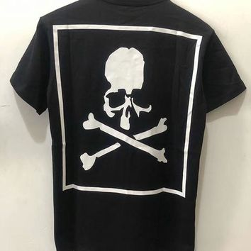 Skateboard Skater t-Shirt Mastermind Japan T-shirt Men Women Summer  Mastermind Top Tees 18 Hip Hop Streetwear Skeleton Mastermind Japan T shirt AT_45_3