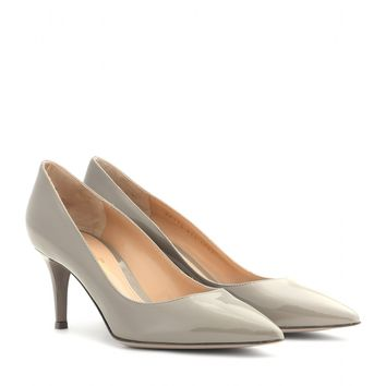 gianvito rossi - patent leather pumps