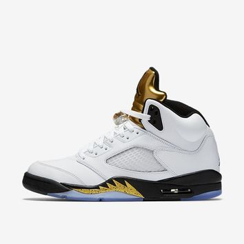 Air Jordan Retro 5 V 'Gold Medal'