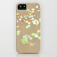 Vintage Confetti iPhone & iPod Case by Lisa Argyropoulos