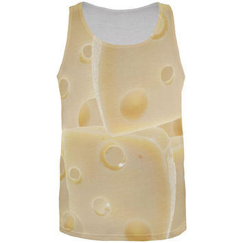 Swiss Cheese All Over Adult Tank Top