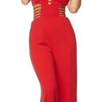 Pascale Caged Jumpsuit