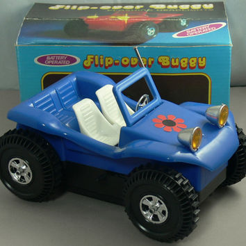 Vintage Toy Dune Buggy Flip Over Battery Powered MIB