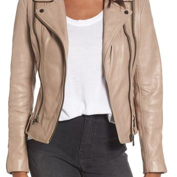 LAMARQUE Leather Moto Jacket | Nordstrom